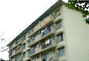 活気溢れる住宅街